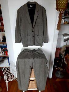Costume homme taille S vintage KENZO Paris 1980 Made In France pied de poule