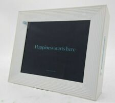 Aura Mason Freestanding Wi-Fi Digital Photo Frame - 9-in, White Quartz -NR4671