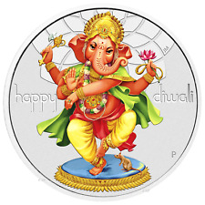 2018 Tuvalu Diwali Festival 1oz .9999 Silver $1 Coin *Previous-Issue-Sold-Out*