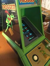Vintage Official Frogger by Sega Coleco 1982 Mini Tabletop Arcade Game WORKING