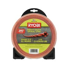 0.095 in. x 110 ft. Heavy-Duty Spiral Gas Trimmer Line Weed Eater Wacker String