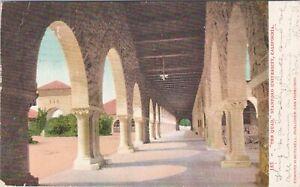 UDB postcard 1909, The Quad Stanford University, Palo Alto, California