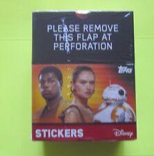 2016 Topps Star Wars The Force Awakens Stickers Box W/ Sticker Starter Kit