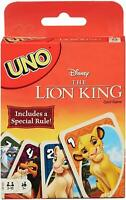 Mattel Games Uno The Lion King Card Game