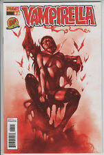 Vampirella Annual #1 Dynamic Forces Variant With COA Parillo NM / NM-