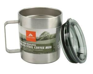 Ozark Trail 12-oz Double Wall Vacuum-sealed Stainless Steel Coffee Mug BPA Free