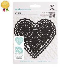 Xcut Metal Dies *FILIGREE HEART* 1 Piece - by DoCrafts Fancy Die Cutting Heart