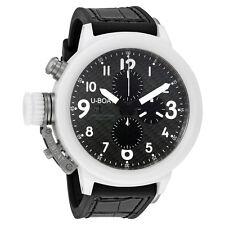 U-Boat Flightdeck 50 Automatic Carbon Fiber  Dial Mens Watch 7095