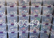 Estimated 400+ 100 % Lego Pieces HUGE LOT With MINIFIGURES # washed & #sanitized