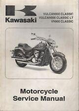2006 KAWASAKI MOTORCYCLE VULCAN900 CLASSIC SERVICE MANUAL 99924-1366-01 (306)