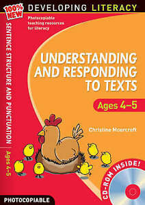 Understanding and Responding to Texts: Foe Ages 4-5 by Christine Moorcroft (Mix…