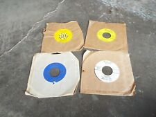 Lot Of 4 Vintage 45 Records Game Calls By Burnham Bros