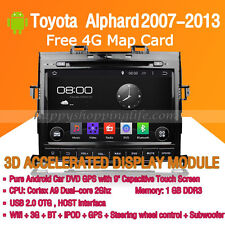 Android Multimedia Player for Toyota Alphard 2007-2013 DVD GPS Navigaiton Radio