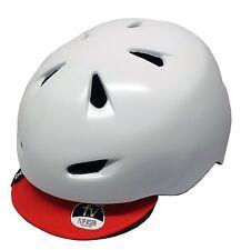Bern Brentwood Helmet w/ Flipaway Visor - White - L/XL - Old Stock