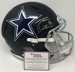 JASON WITTEN Autographed Dallas Cowboys Authentic Black Matte Helmet FANATICS