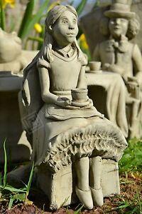 Alice's Adventures in Wonderland Stone Garden Ornament (Alice)