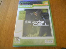 Tom Clancy's Splinter Cell / Jeu XBOX / Neuf sous blister