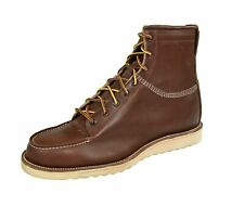 Ralph Lauren RRL Medium Brown Leather Canyon Hiking Boots 13 New $850