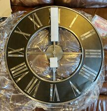 "HOWARD MILLER 625-573 DEARBORN Oversized 32"" Metal Gallery Wall Clock 625573"