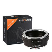 K&F Concept Lens Mount Adapter for Olympus OM Lens to Micro 4/3 Lens Camera