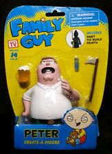 2013 Family Guy PETER Create-A-Figure ~ Includes Part To Build Death