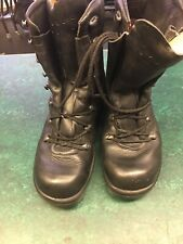 army surplus/Military German Black Para Boots Size 260/6.5