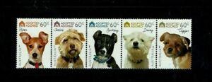 Australia: 2010Adopted & Adored: Dogs, MNH Set gummed