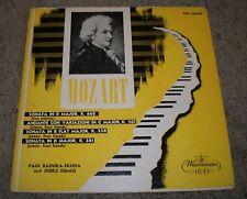 Mozart 4 Hand Sonatas Badura-Skoda Demus~VG++ Vinyl~1955 Westminster~FAST SHIP!