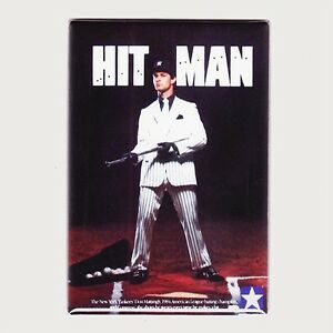 "DON MATTINGLY / HIT MAN - 2"" x 3"" POSTER FRIDGE MAGNET converse yankees costacos"