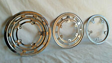 3 Vtg Chain Drive Ring Bash Guards 1 Schwinn 2 Unknown ~ All Metal