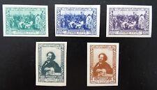 Sowjetunion Mi 932-936 * , Sc 952-956 MH , Geburtstag von Ilja Repin
