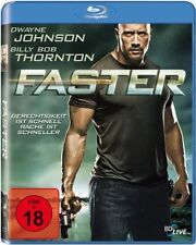 Faster - Dwyne Johnson - Billy Bob Thornton - Blu-ray -  FSK 18 - Neu u. OVP