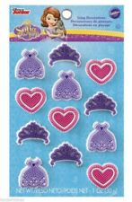 Disney Princess Sofia the First Edible Icing Decorations - 12 per Packet