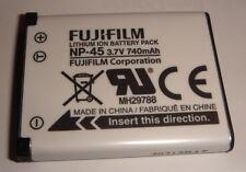 Batterie D'ORIGINE FUJIFILM NP-45 NP-45A Casio NP-80