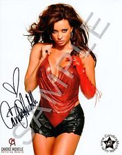 CANDICE MICHELLE - Red Top - Personally Autographed Gloss Photo with COA