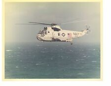 Sikorsky SH3 Sea King HS2 Navy Helicopter Photograph 8x10 Color