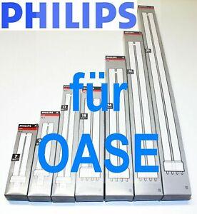 Philips 7 9 11 18 24 36 55 Watt UV-C Lampe Ersatzlampe für Oase Bitron Vitronic