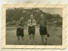 Foto, Jugend, 3 Jungen aus Köln am Deutschen Eck 20851