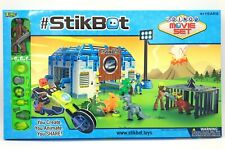 Zing StikBot Dino Movie Set Kids Game Creative Play Free Mobile App Assorted