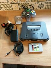 Nintendo 64 Console & International Soccer game... Tested and Working