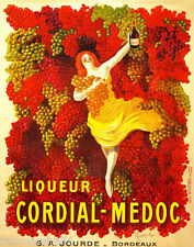 1900's Liqueur Cordial Medoc Wine French France Advertisement Art Poster