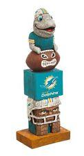Miami Dolphins Tiki Tiki Totem Statue NFL - Free Shipping - Go Fins