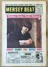Beatles Rolling Stones  Cavern Club   Mersey Beat  Pop Music Paper  July 1964
