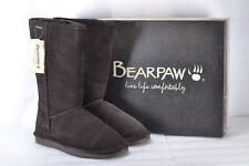 Women's BEARPAW 612w Emma Tall Fashion Pull on BOOTS Chocolate 9