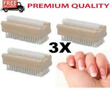 WOODEN-NAIL-BRUSH-FOR-MANICURE-amp-PEDICURE-SCRUBBING-CLEANING-BRISTLES- BOTH SI