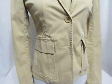 Theory Cotton Women's Functional Button Short Blazer Size 4