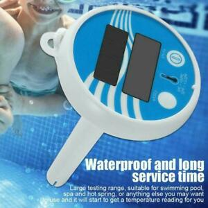 Digital Swimming Pool Floating Solar Thermometer Fish Water Pond Tool Gauge C2C8