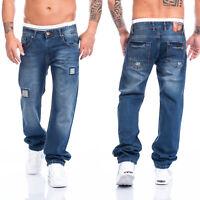Lorenzo Loren Herren Jeans Hose dunkelblau blau Regular Straight NEU LL-2518