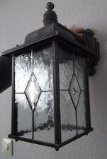 Diamant EDEL Außenwandleuchte Außenwandlampe Aluminium Nostalgisch Antik H.37 cm