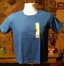 Jerzees Youth T-shirts- BLUE, Size M~ Great for everyday wear and projects!~NWT